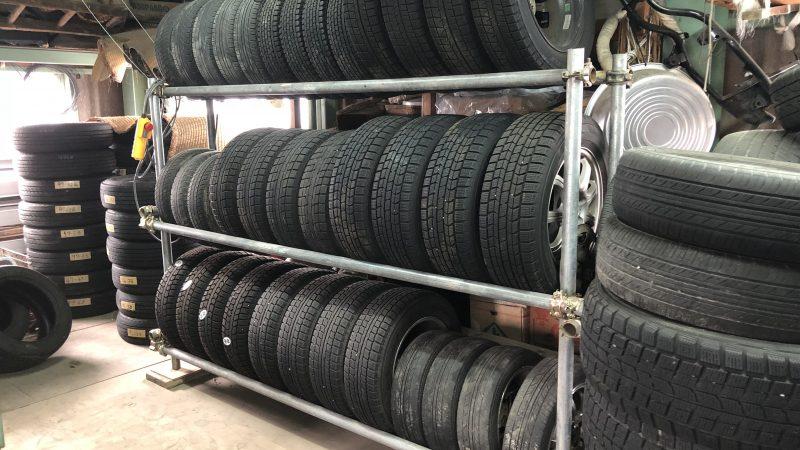 タイヤ保管サービスやってます!
